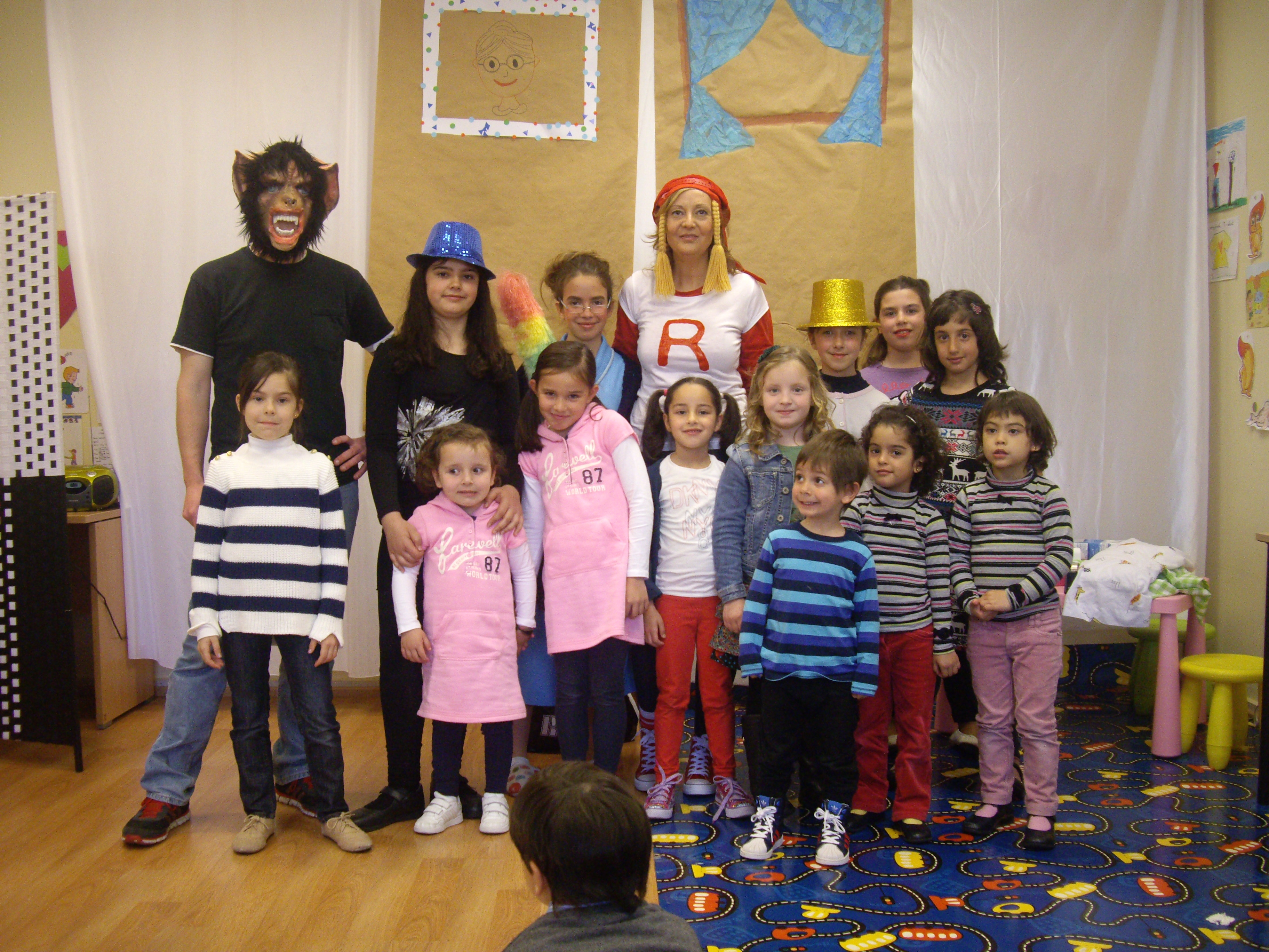 Cuentacuentos Little Red English´s Fun (44)