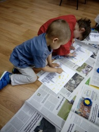 Arts and Crafts infantil Engñish´s Fun, Salamanca (2)